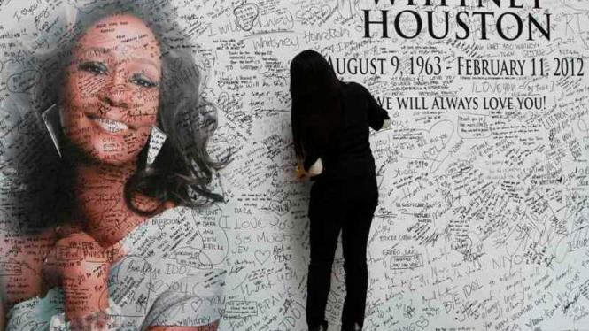 Penggemar Whitney Houston di Filipina