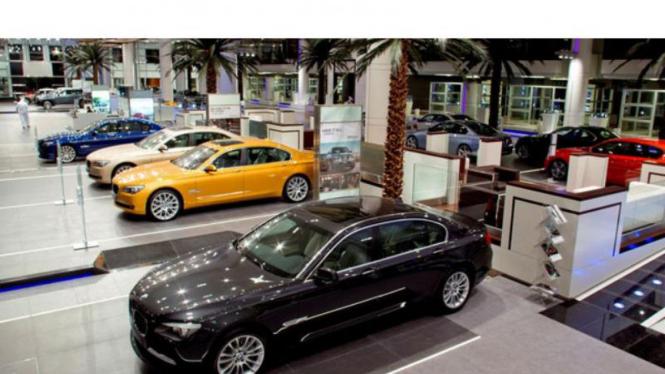 Showroom BMW group di Abu Dhabi
