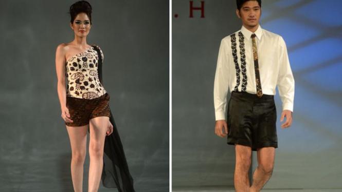 Busana koleksi Lina dam Lim H