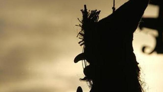 Ilustrasi penyihir.
