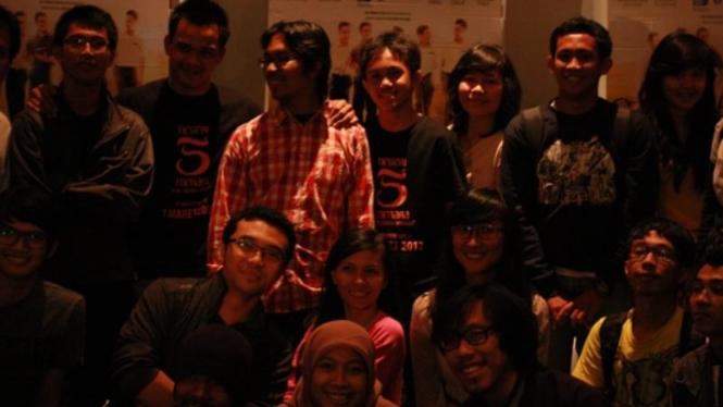 30 Vloggers Nonton Bareng Negeri 5 Menara The Movie