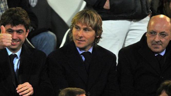 Beppe Marotta (kanan)