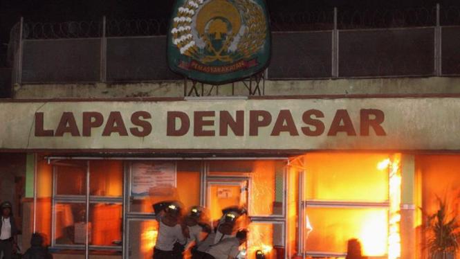 Kerusuhan di LP Kerobokan, Denpasar, Bali