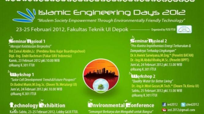 Islamic Engineering Days (IED) 2012