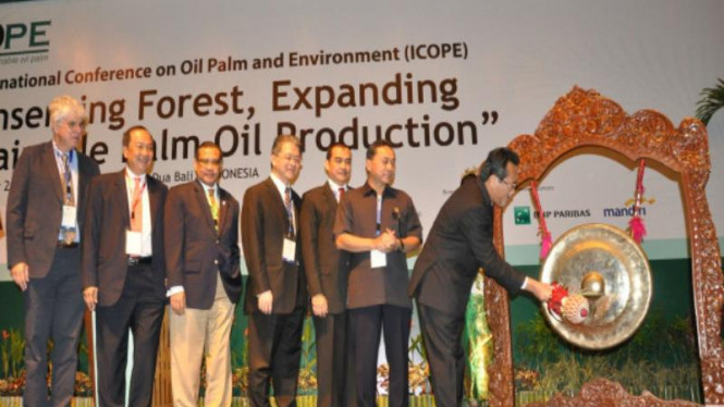 Pembukaan International Conference On Oil Palm And Environment (ICOPE) 2012