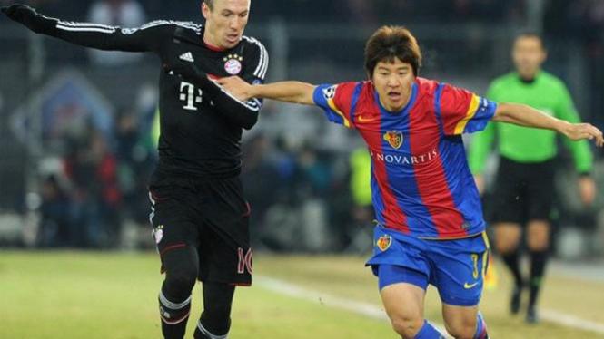 Laga Bayern Munich vs Basel