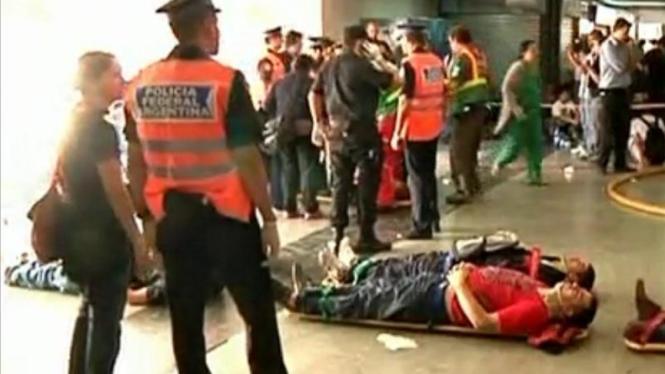 Korban Kecelakaan Kereta di Argentina