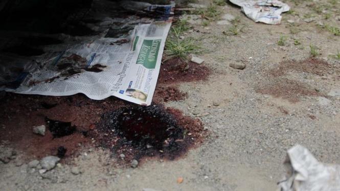 TKP Kerusuhan di RSPAD Gatot Soebroto