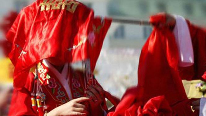 Pengantin tradisional China