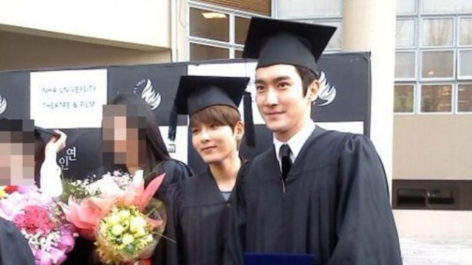 Siwon dan Ryeowook