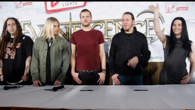 Jumpa Pers Konser Evanescence