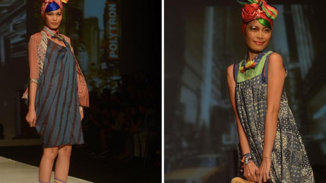 Busana Koleksi Lennor pada gelaran Indonesia Fashion Week 2012