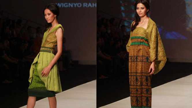 "Indonesia Fashion Week 2012 ""Ethnic Psychedelic"""