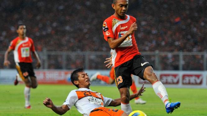 Persija Jakarta vs Persisam Samarinda