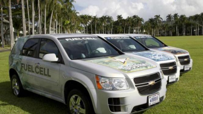 Mobil militer berbahan bakar hidrogen