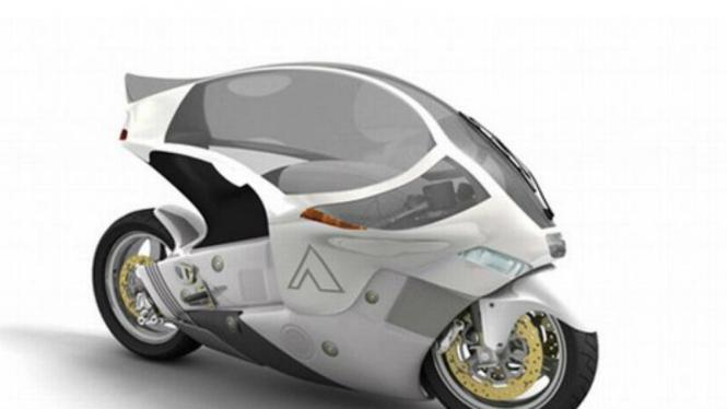 Crossbow, sepeda motor tanpa helm