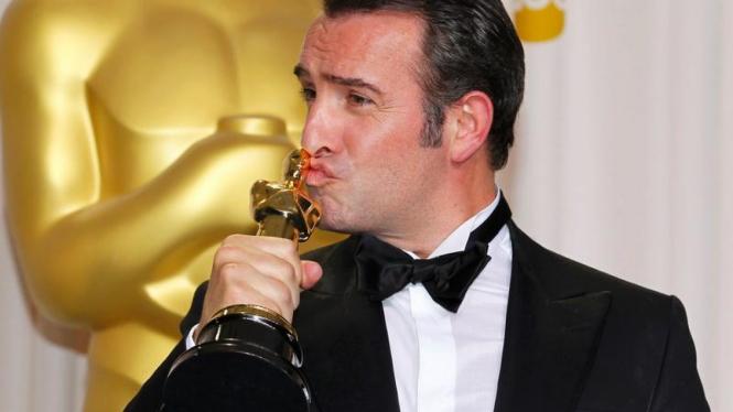 Jean Dujardin raih Piala Oscar
