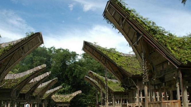 Ke'te' Kesu', Objek Wisata di Toraja