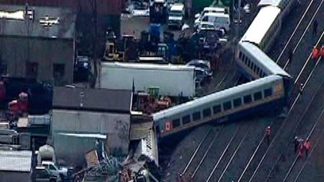 Kecelakaan kereta di Ontario, Kanada