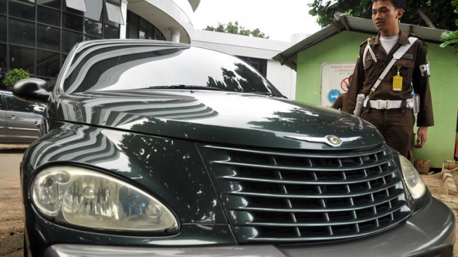 Mobil Sitaan Tersangka DW