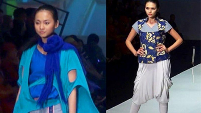 Rancangan Reneo di Indonesia Fashion Week