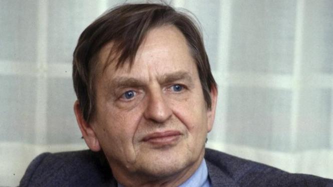 Perdana Menteri Swedia Olof Palme