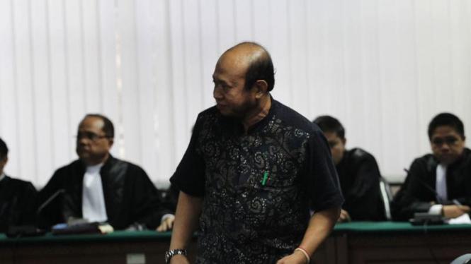 Sidang Vonis Hakim Syarifuddin