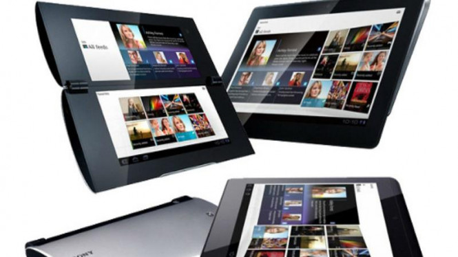 Sony Tablet P dan Tablet S