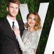 Miley Cyrus dan Liam Hemsworth.
