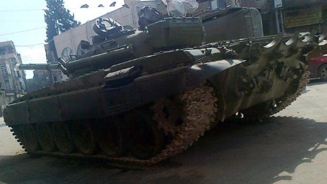 Tank pasukan Suriah