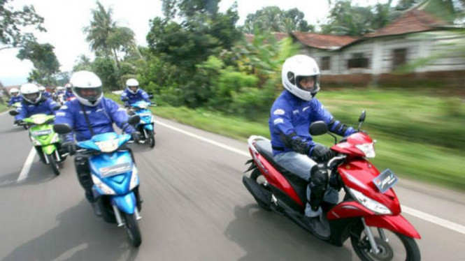 Touring Mio J dari Yogyakarta-Bandung