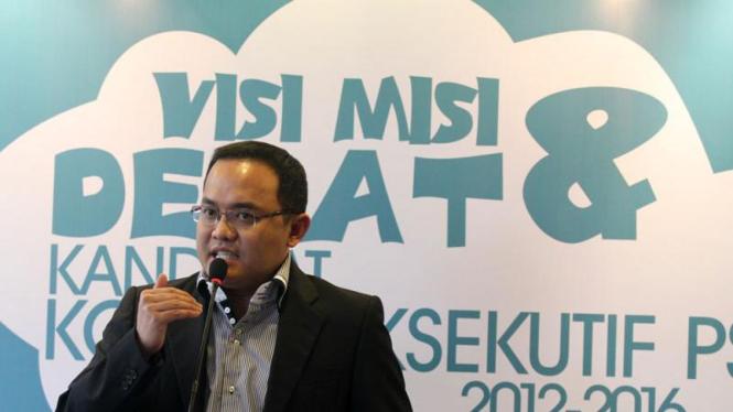 Debat Visi Misi Calon Ketua KPSI 2012-2016