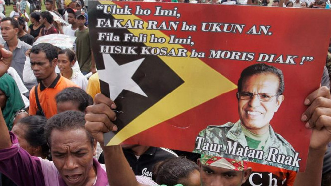 Kampanye calon presiden Timor Leste