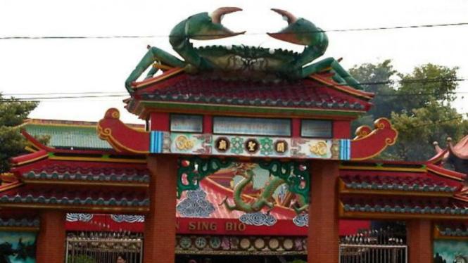 Kelenteng Kwan Sing Bio di Tuban