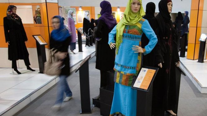 Pameran busana muslim Iran