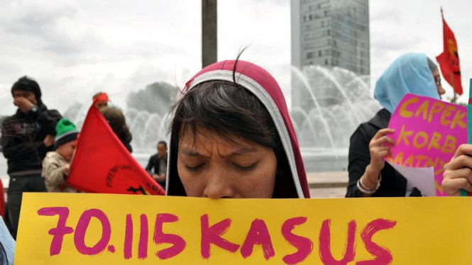 Demo Perkosaan dan Pelecehan Seksual