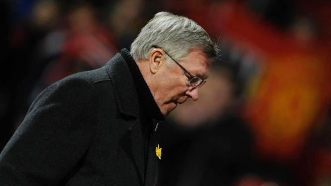 Alex Ferguson Saat Duel Manchester United VS Athletic Bilbao