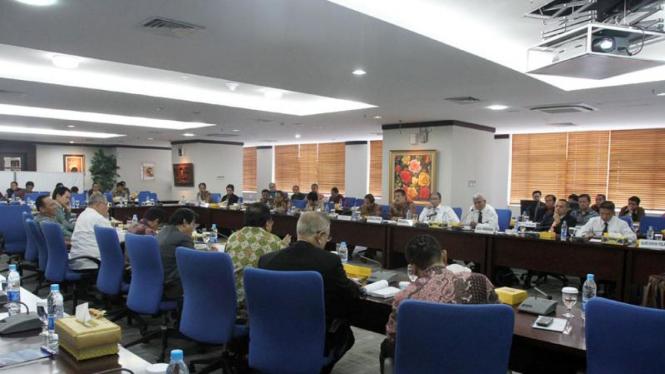 Komisi III DPR-RI Kunjungi Kantor Ditjen Pajak
