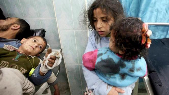 serangan udara israel ke gaza