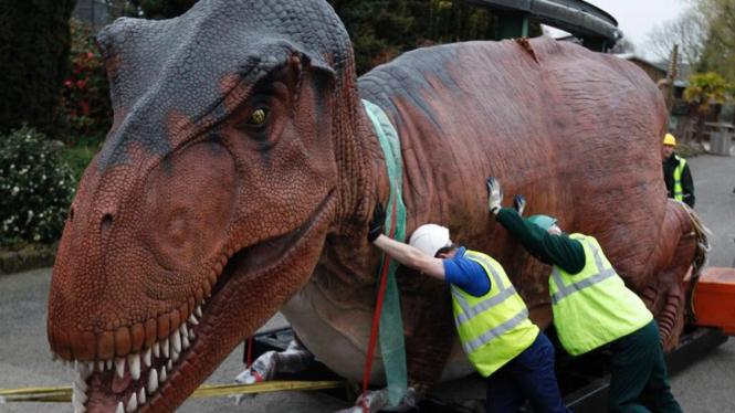 Pameran Dinosaurus di Inggris