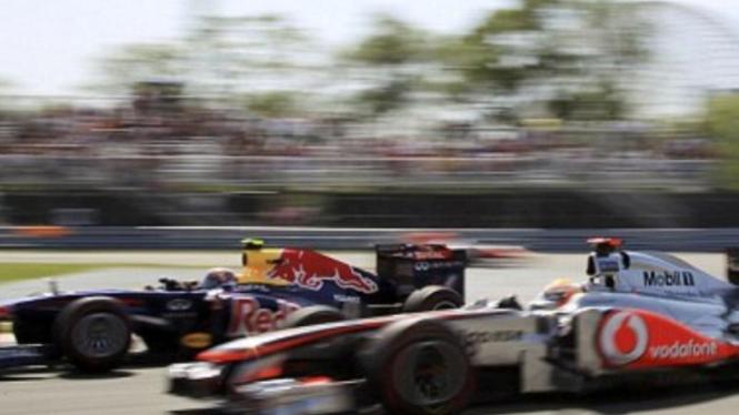 McLaren tempel ketat Red Bull musim 2011
