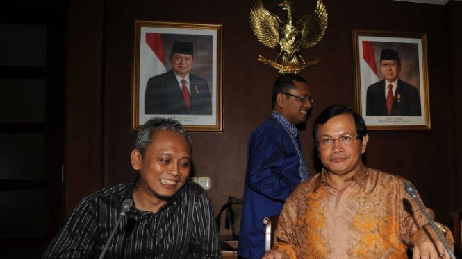 Arif Wibowo dan Pramono Anung.