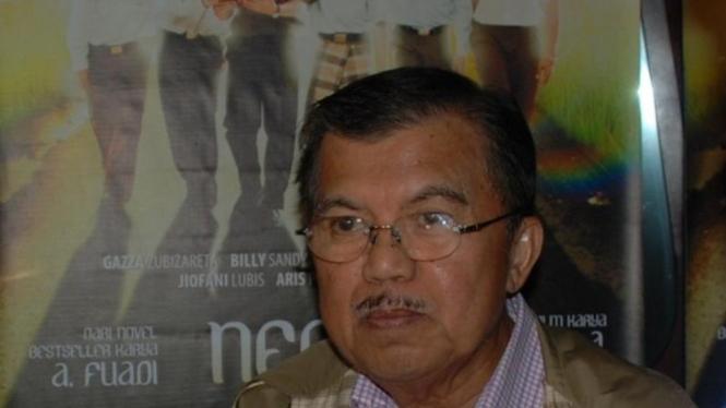 Jusuf Kalla Nonton Film Negeri 5 Menara