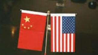 Bendera AS dan China