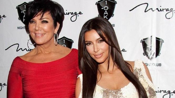 Kris Jenner dan Kim Kardashian