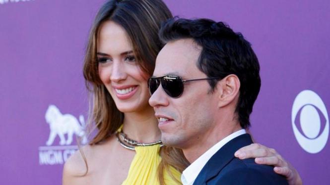 Shannon De Lima dan Marc Anthony