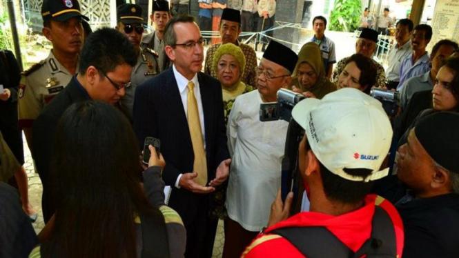 Dubes AS Scot Marciel di Jombang Januari 2012