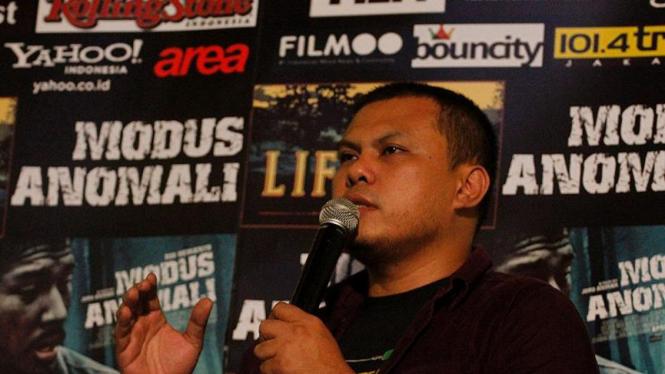 Joko Anwar di Press Screening Film Modus Anomali
