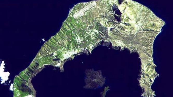Pulau Santorini