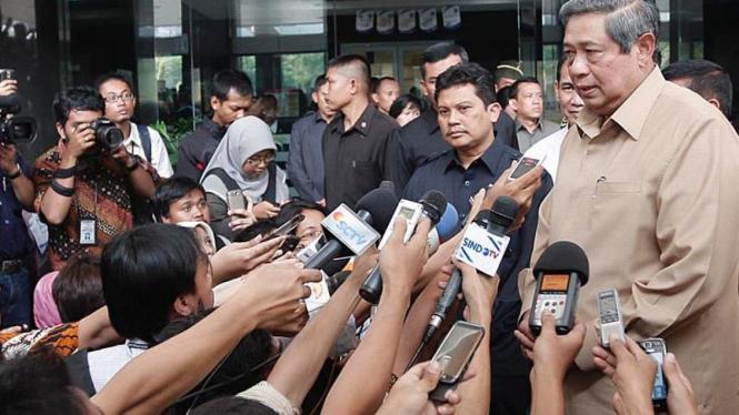 SBY mengumumkan pengunduran diri Menkes
